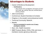 advantages to students10