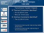 gulfport ms to georgia 1000 mw31