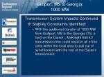 gulfport ms to georgia 1000 mw32