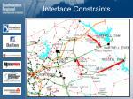 interface constraints22