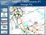 potential enhancements p1 through p3