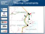 thermal constraints65