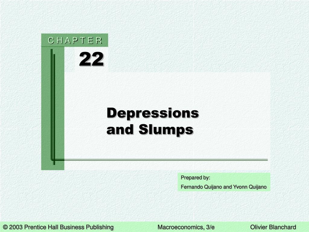 depressions and slumps l.
