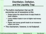 disinflation deflation and the liquidity trap4