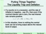 putting things together the liquidity trap and deflation13