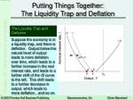 putting things together the liquidity trap and deflation14