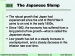 the japanese slump