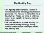 the liquidity trap9