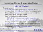 importance of surface transportation weather9