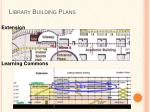 library building plans