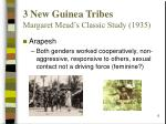 3 new guinea tribes margaret mead s classic study 1935