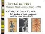 3 new guinea tribes margaret mead s classic study 19357