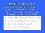 pam cost calculation