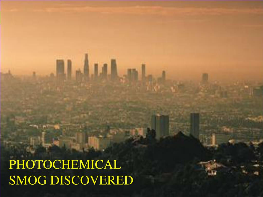 photochemical smog discovered l.