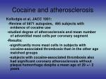 cocaine and atherosclerosis14