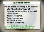 question bowl40