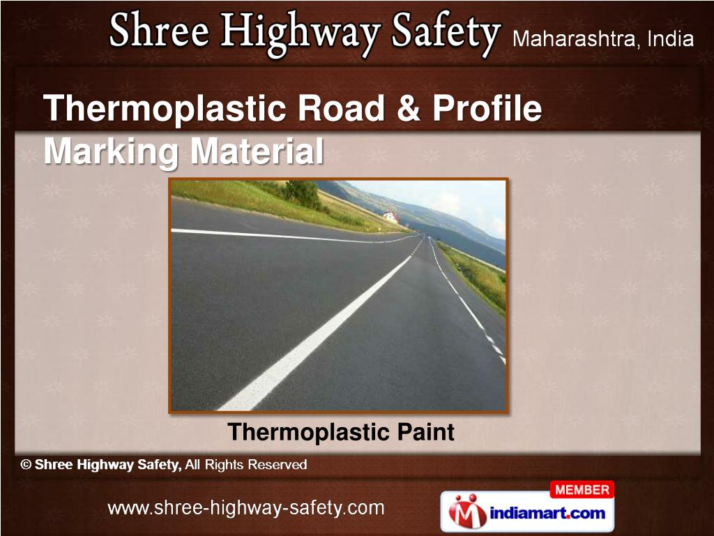Thermoplastic Road & Profile Marking Material