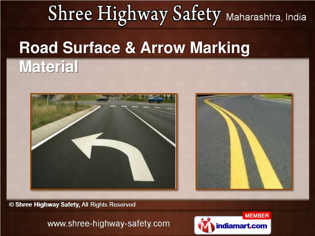 Road Surface & Arrow Marking Material