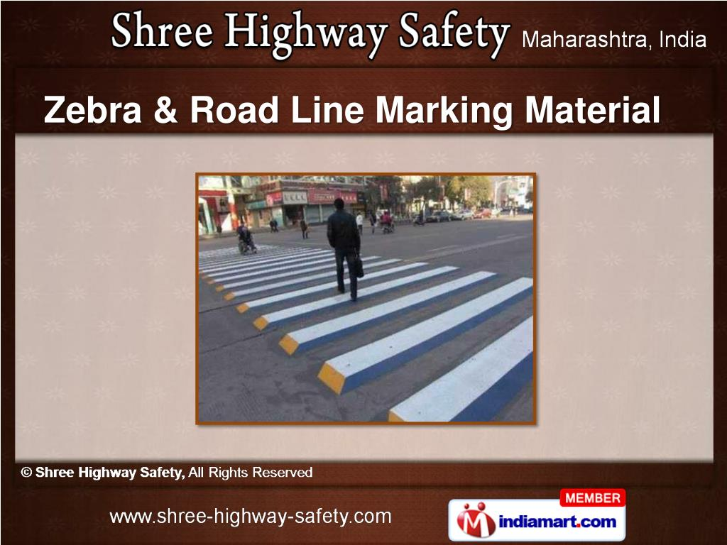 Zebra & Road Line Marking Material