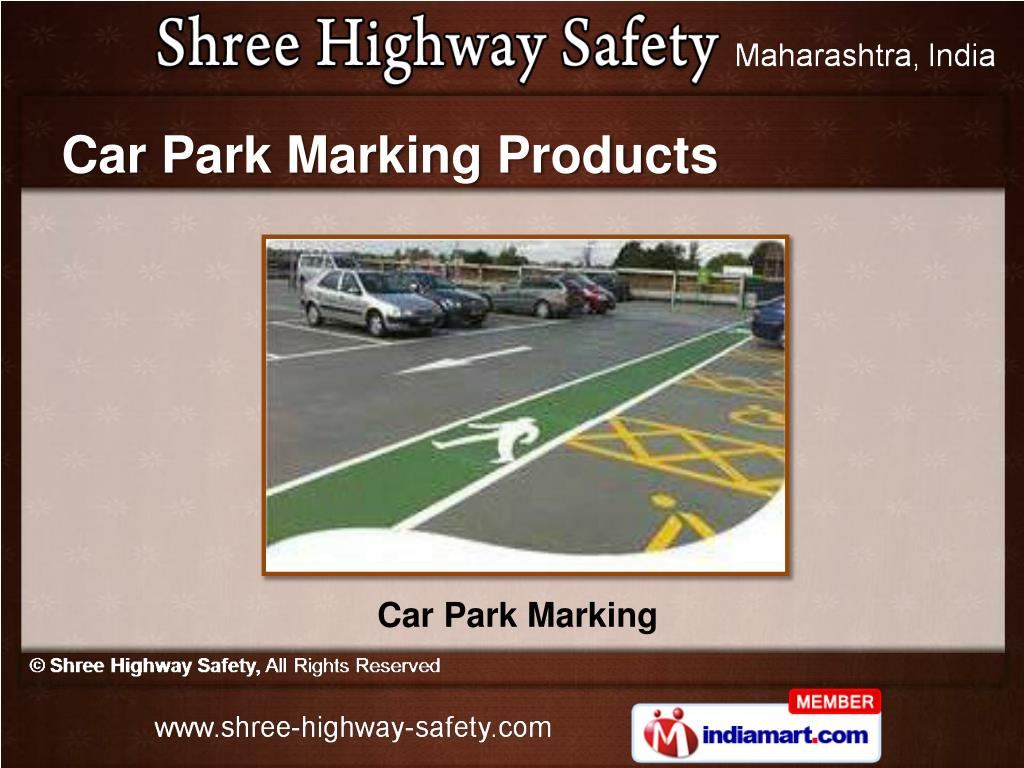 Car Park Marking Products
