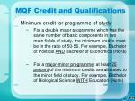 mqf credit and qualifications31