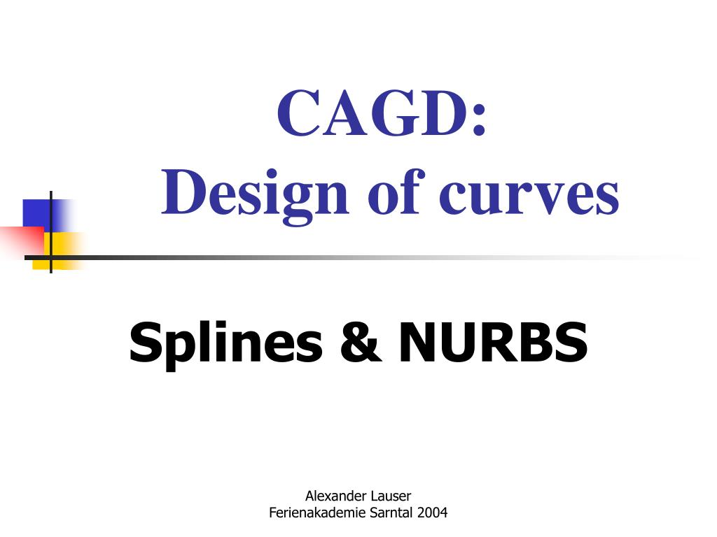 cagd design of curves l.