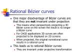 rational b zier curves50