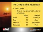 the comparative advantage9