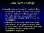 coral reef ecology69