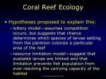 coral reef ecology70