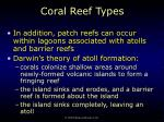 coral reef types33