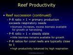reef productivity55