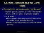 species interactions on coral reefs64