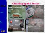 cleaning up the traces28