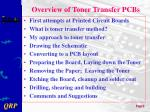 overview of toner transfer pcbs