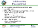 p2b business process group