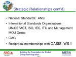 strategic relationships cont d