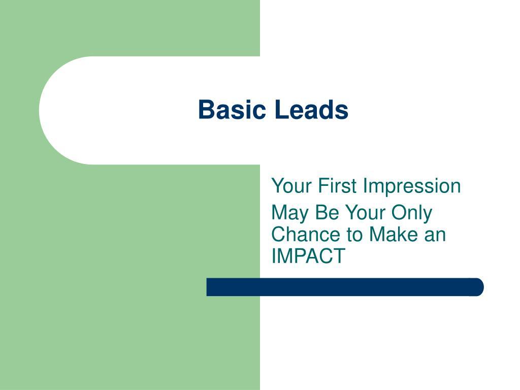 basic leads l.