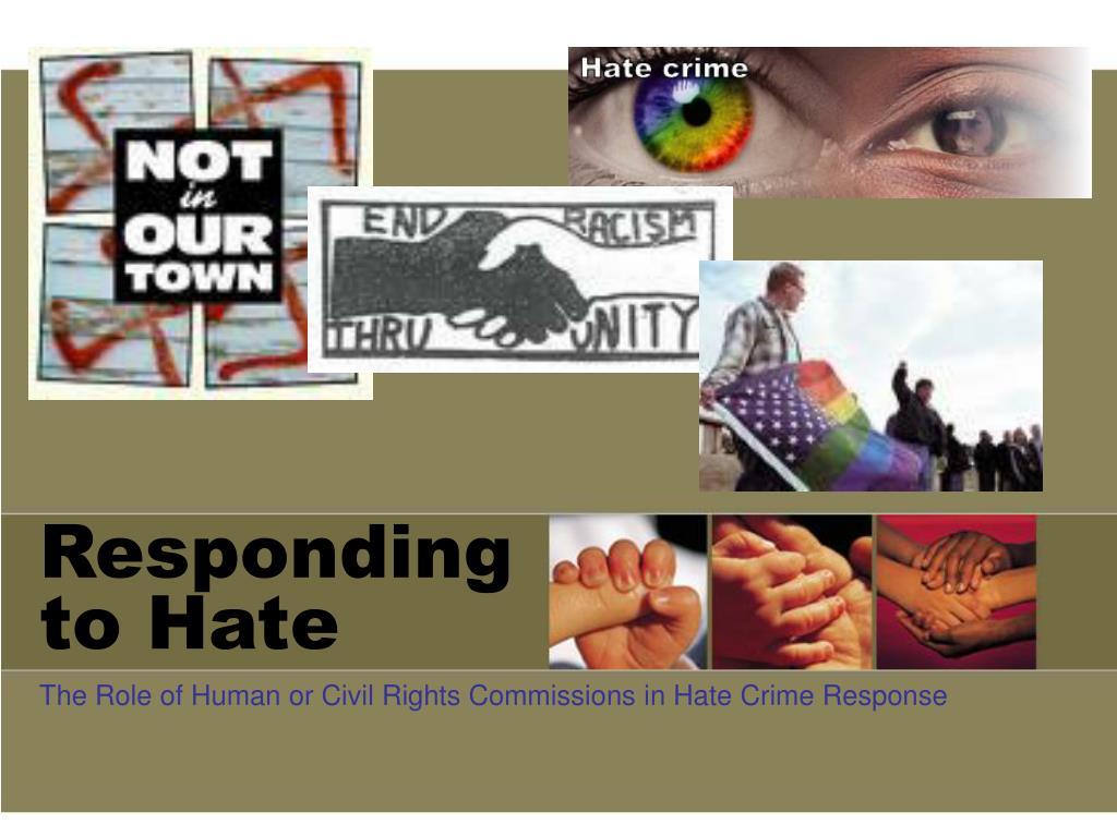 responding to hate l.