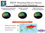 inecp promoting effective nuclear export controls worldwide