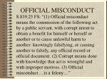 official misconduct