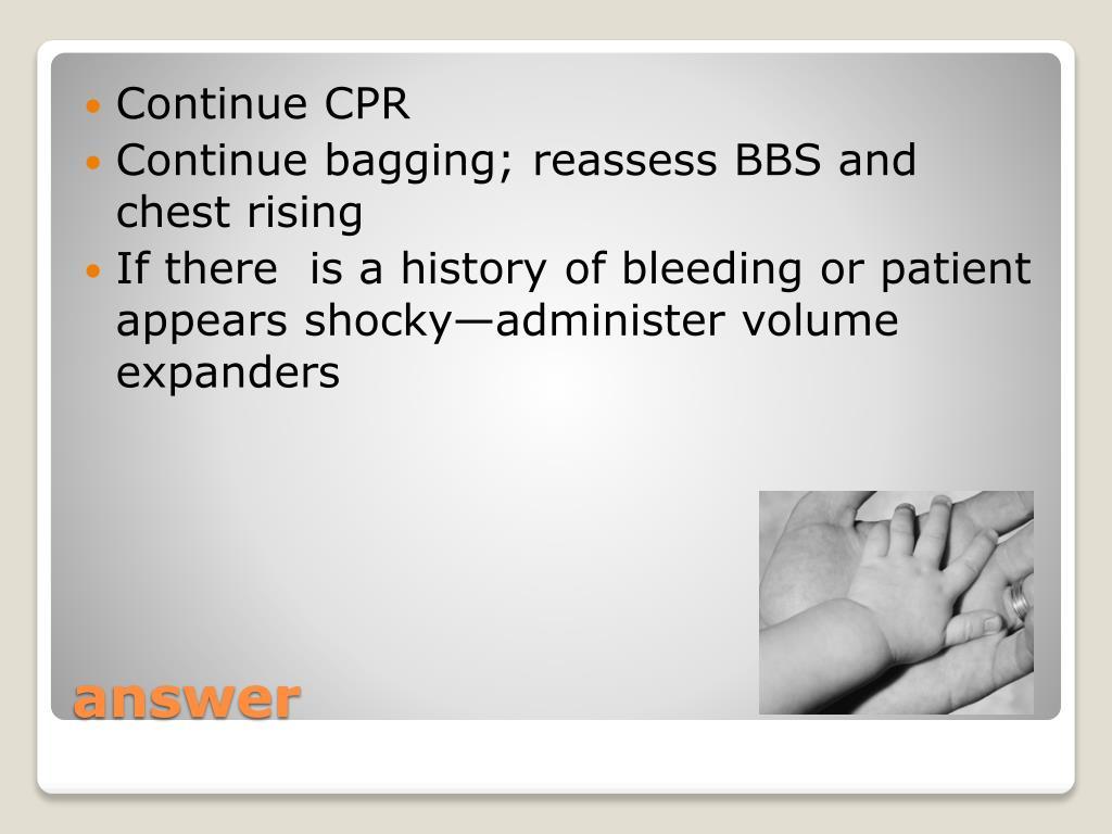 Continue CPR