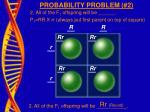 probability problem 2