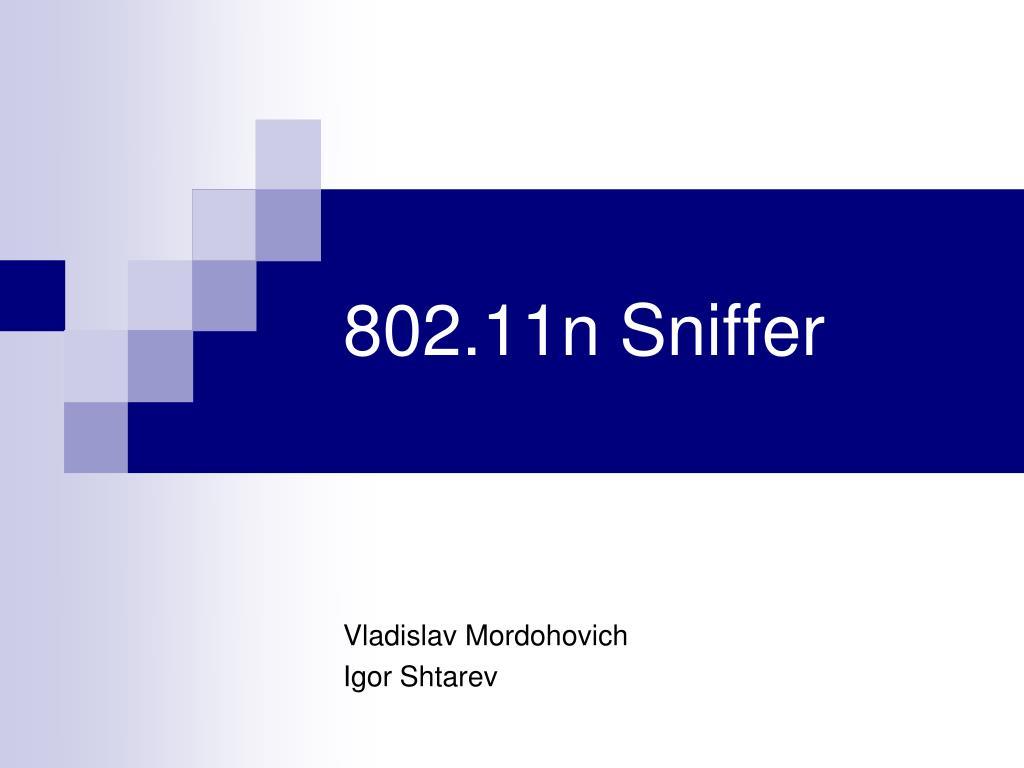 802 11n sniffer l.