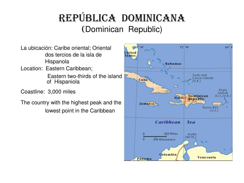 rep blica dominicana dominican republic l.