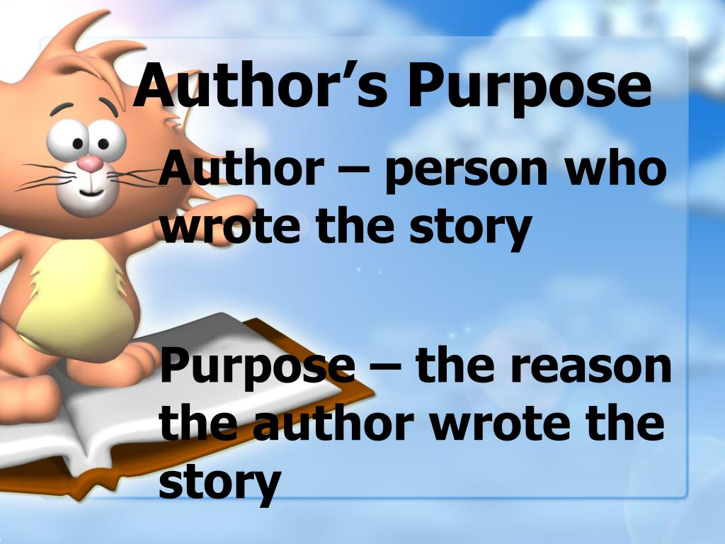 author s purpose l.