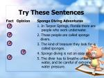 try these sentences