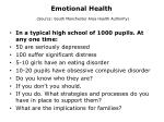 emotional health source south manchester area health authority