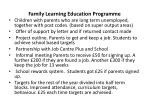 family learning education programme