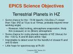 terrestrial planets in hz